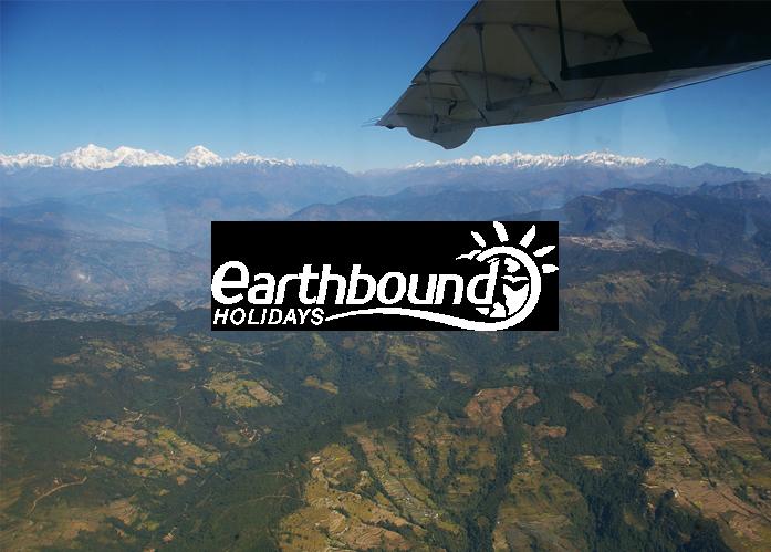 Nepal mountain flight