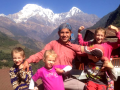 Family luxury trekking