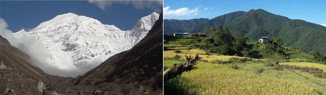 Bhutan Jhomolari Trekking